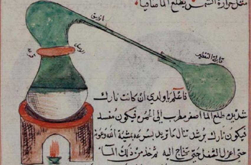 The Origins Of Alcoholic Distillation In The West: The Arabs